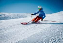 Ski on the most southerly ski resort of Europe from December to April.