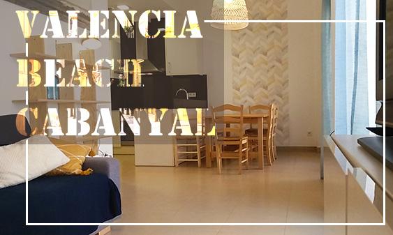 Apartment-Meraki-Media y larga estancia Valencia Beach Cabanyal