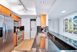 Dining area, fully equipped kitchen, washer/dryer