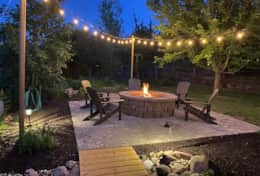 Patio / Fire pit