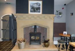 Greenhead Hotel - fireplace