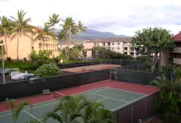 Sharied tennis courts