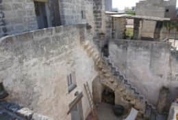 Pulcinella - view of the house and courtyard - Castiglione d'Otranto - Salento