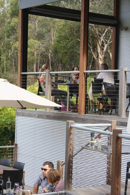 Enjoy lunch at a nearby Adelaide Hills winery
