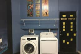 full sized high capacity washer and dryer