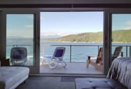 Luxury Lookout Hood Canal Vacation Rental