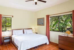 Master bedroom 3 bedrooms Casita U1 Hacienda Iguana Playa Colorado