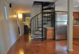 Spiral Staircase Leading to Master Suite