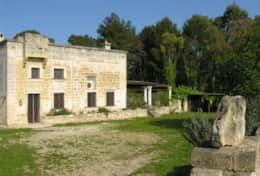 Masseria-della-Corte - entrance to the property - Depressa di Tricase - Salento