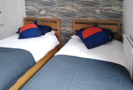 Room 2 - Twin beds