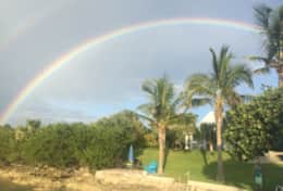 Rainbow at E39 - Photo taken by Kathleen T.
