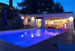 Piscine pool house