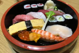 Local sushi- best family stays in Tokyo | Tokyo Family Stays|