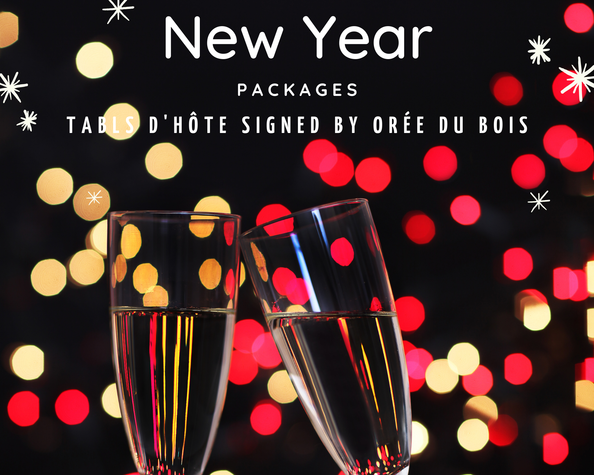 Auberge Tom B&B - New Year Packages