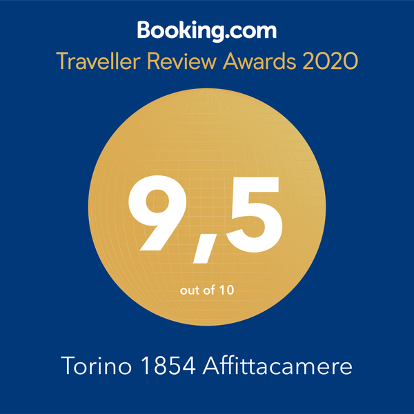 Booking.com Traveller Review Award 2020 punteggio 9,5 su 10