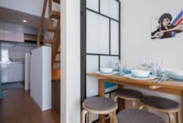 Dining space  | Manga House| best family stays in Tokyo | Tokyo Family Stays|