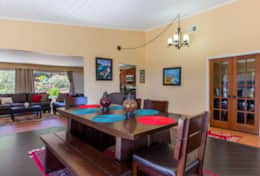 Dining Area comfortably accommodates 6