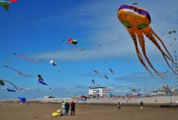 Morecambe Annual Kite Festival (10mins drive away)