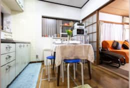 Fully equipped kitchen | best family stays in Tokyo |SakuraHouse| Tokyo Family Stays|