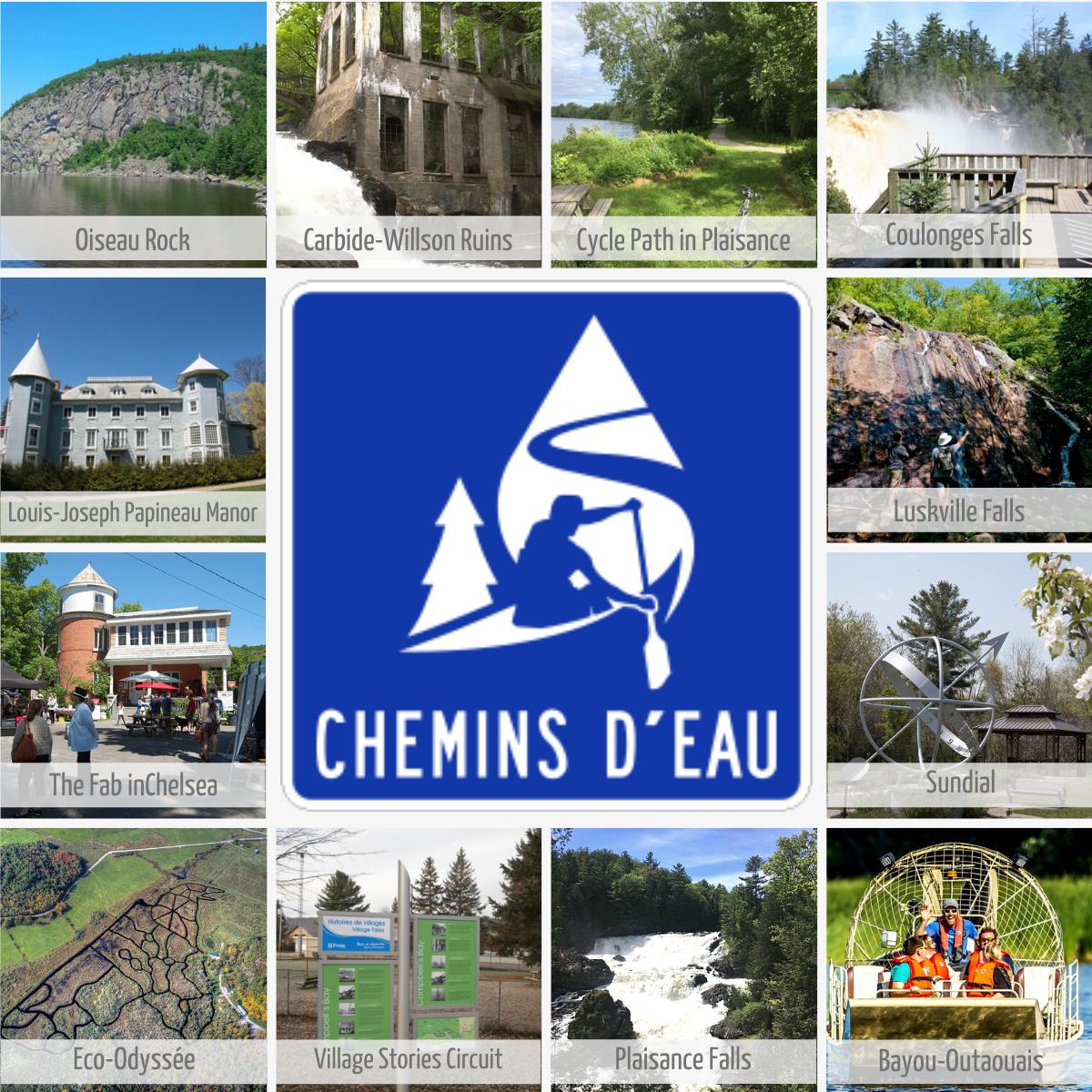 Chemins d'eau, touristic route in Outaouais