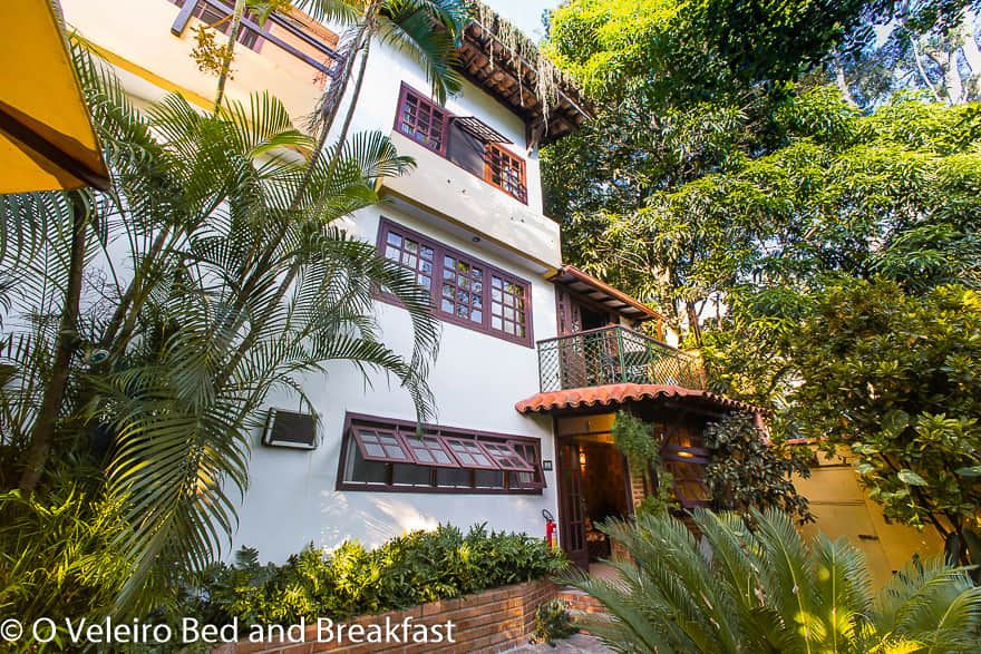 O Veleiro Bed and Breakkfast main house