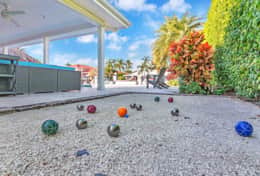 Petanque/ Bocce Ball court