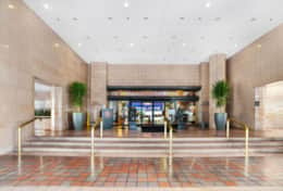 The Grand Main Entrance Into Lobby