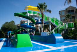 Windsor Hills Community Pool Waterslides