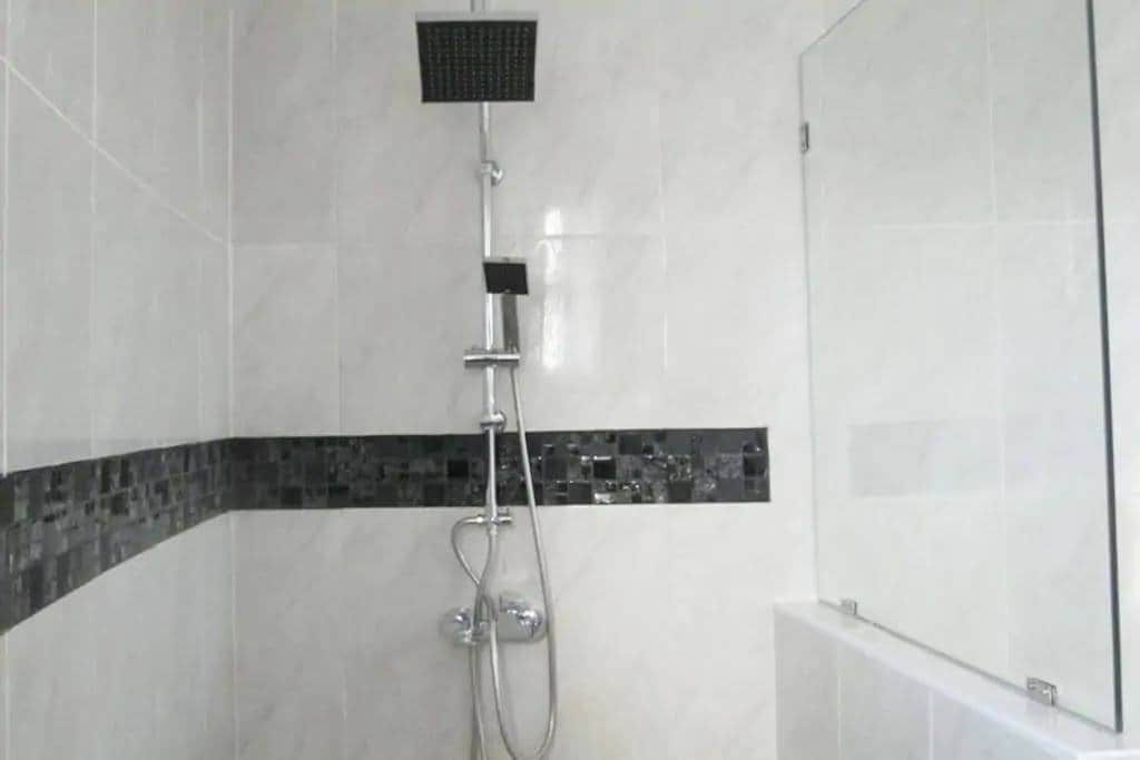 All for ensuites have a duel system rain shower