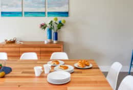 The Sandcastle - Beautiful Big Dining Table - Good House Holiday Rentals