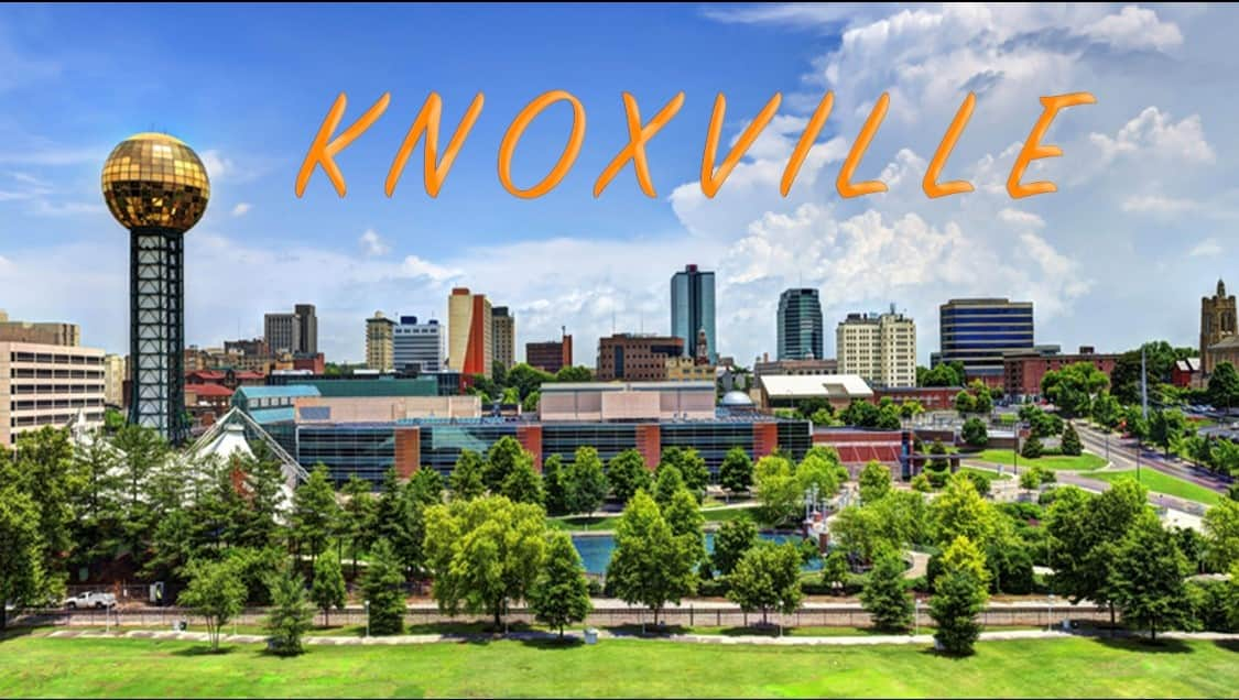 Visit Knoxville, only 35 minutes