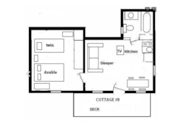 Cottage 8 Diagram