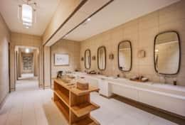 Beach club spa bathroom