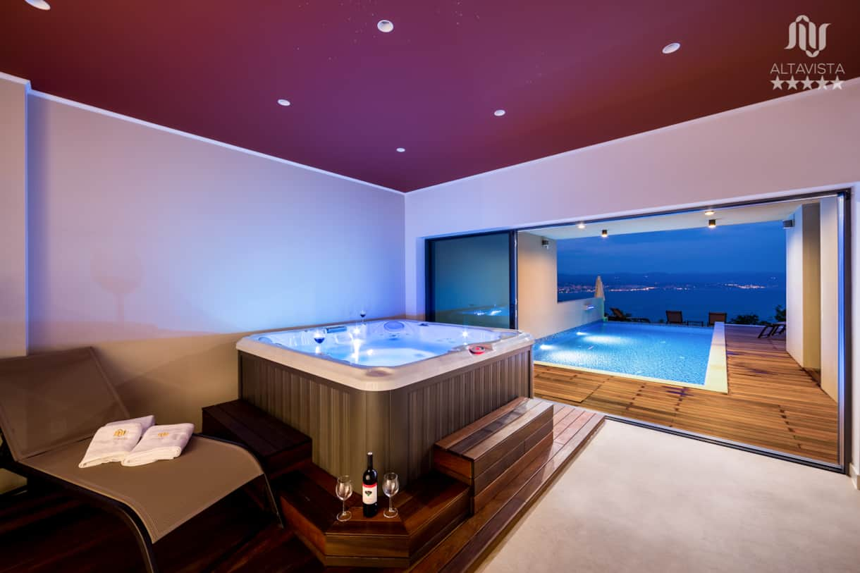 Luxury spa villa for rent