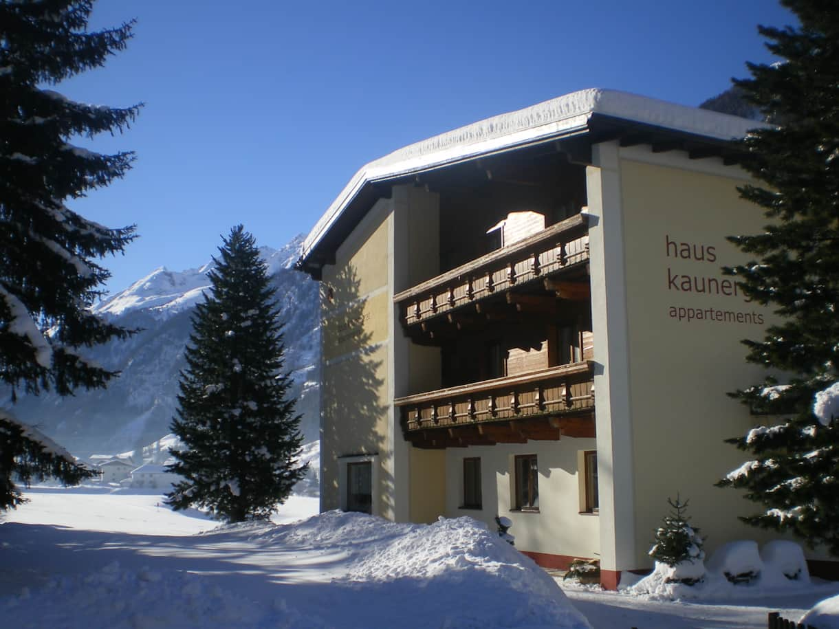 Haus Kaunergrat Winter