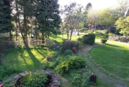 Explore communal grounds (approx 1acre)...you may see the odd neighbour out gardening.
