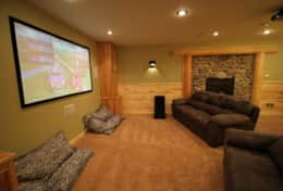 Game and Theater Room