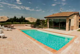 Private villa for holiday in Spello