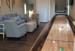 Beautiful custom made shuffle board table.  Only one on CSB!
