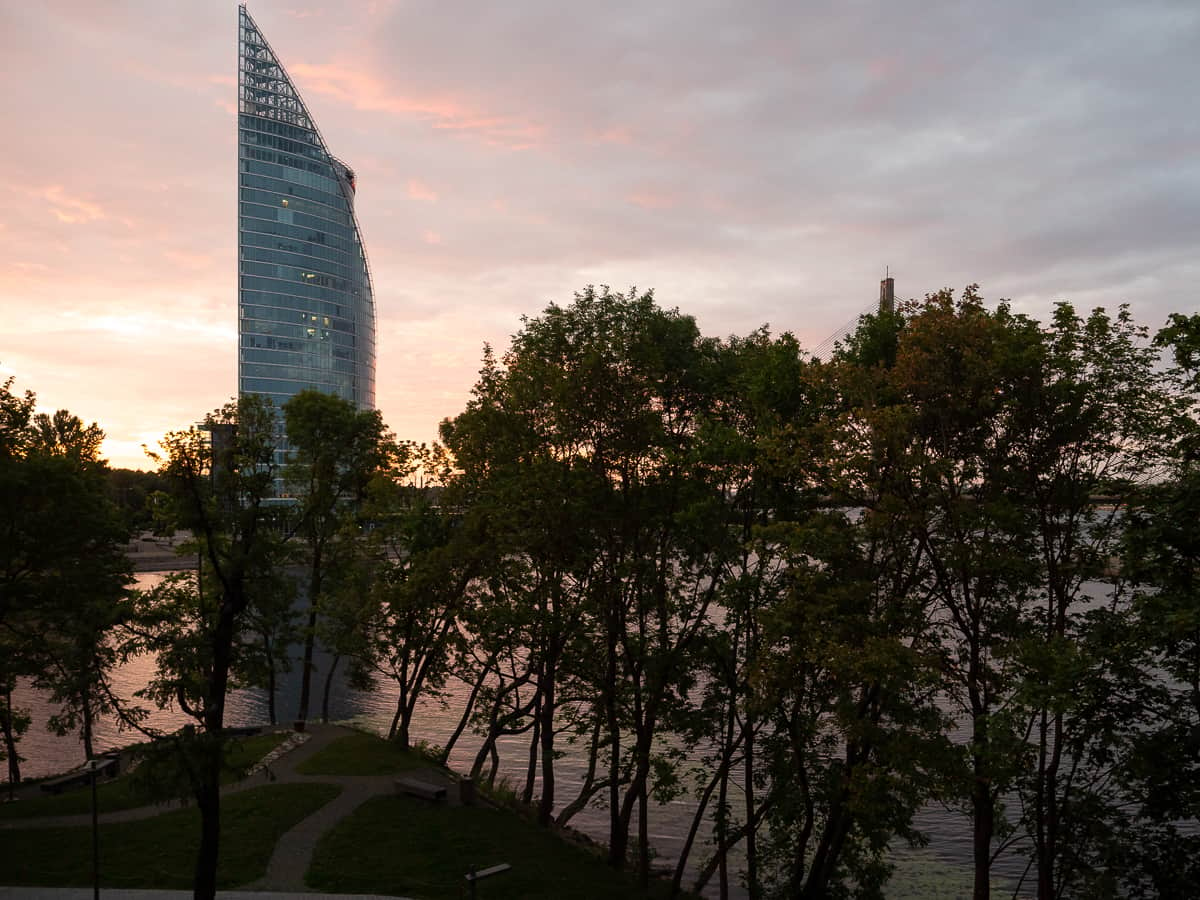 The-Klive-Riga-Mastersuite-View-From-Bed