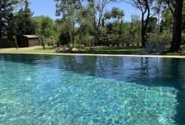 Piscine privee naturelle costa brava vacances opt