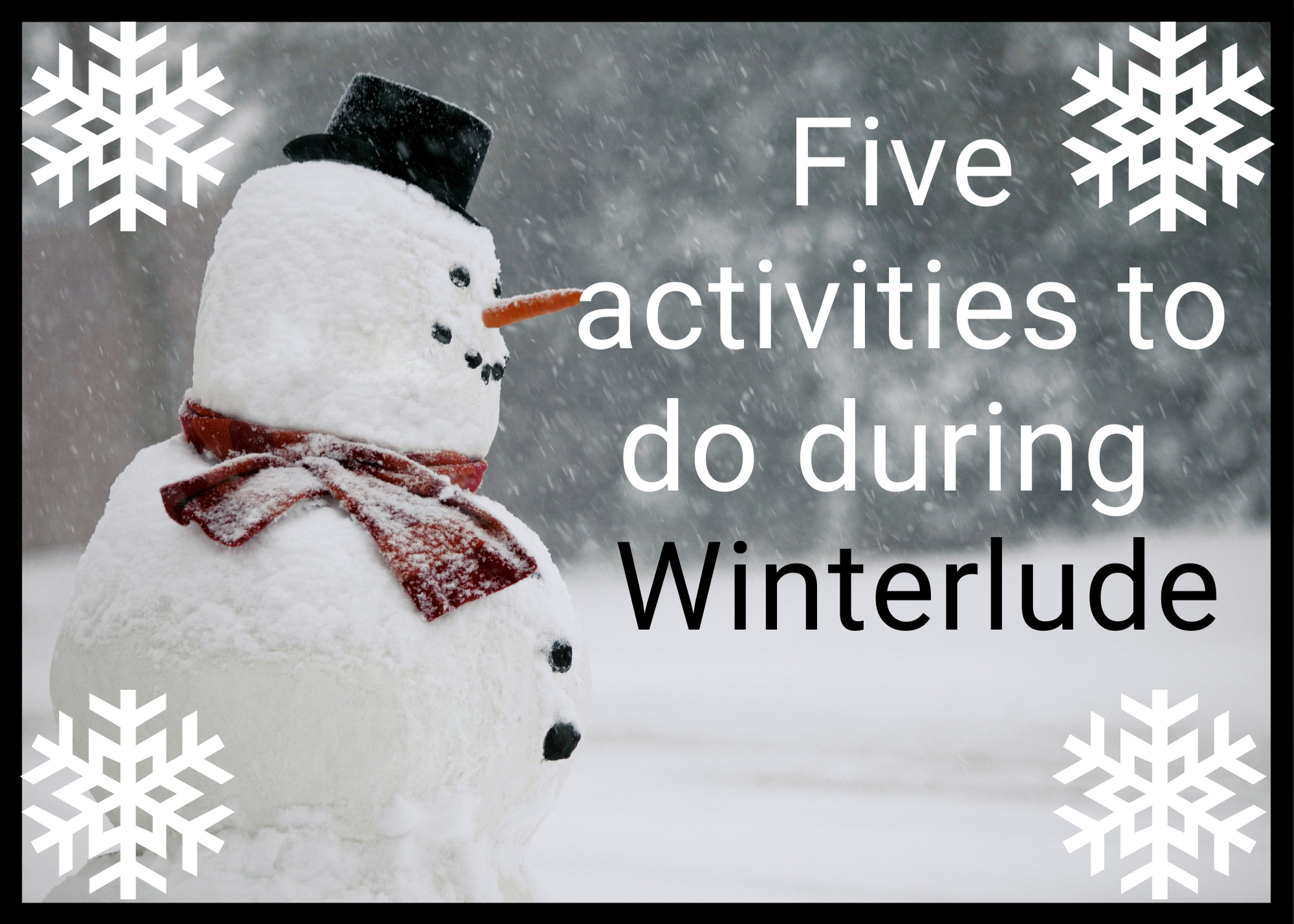 Auberge Tom B&B - Winterlude - Five Activities To Do During Winterlude
