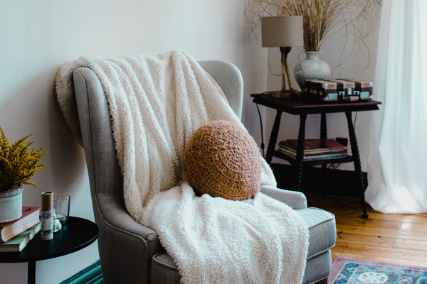apartment reading chair