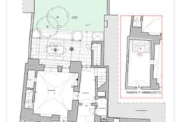Palazzotto - plan ground floor - Lucugnano di Tricase - Salento