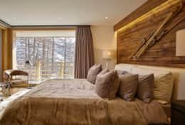 Annapurna - Saas Fee - Bedroom 2