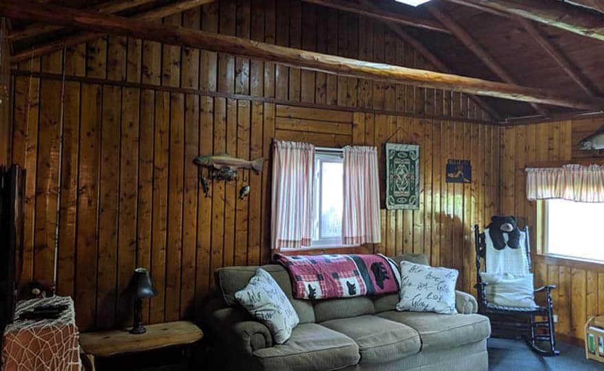 Fishing Cottage living room