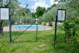 Agriturismo Montefalco, wine estate with fenced pool