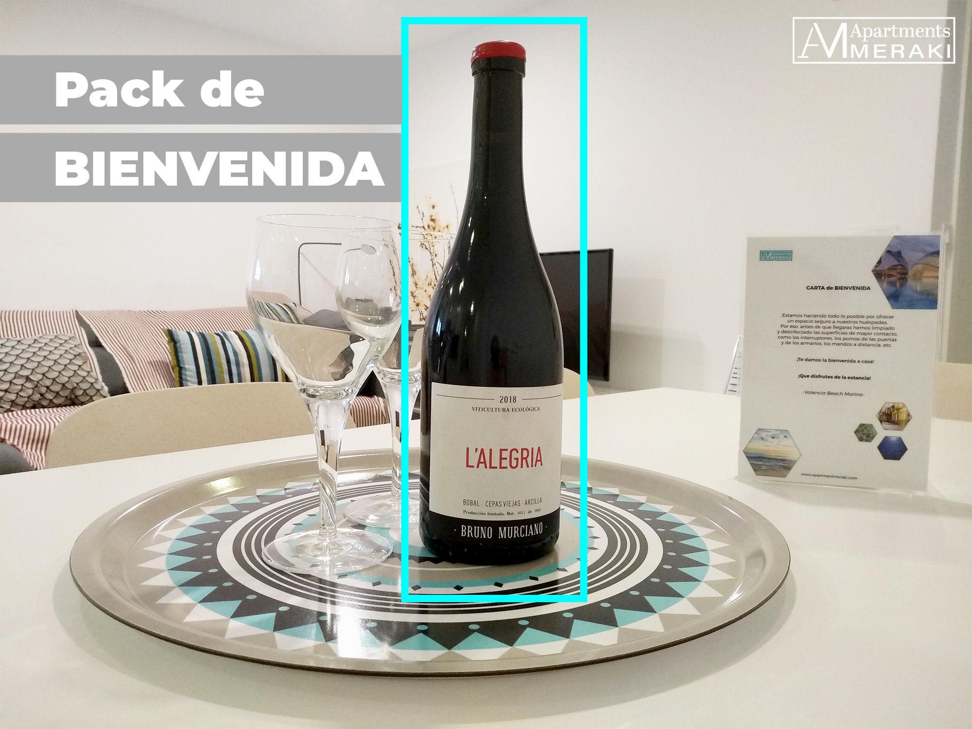 Pack BIENVENIDA Apartment Meraki
