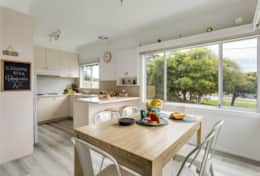 A Wave From It All - Kitchen and Dining - Good House Holiday Rentals