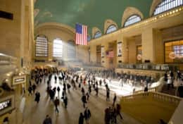 The famous Grand Central